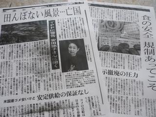 東京新聞11.11.12