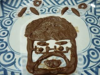 娘が作ったパパへのチョコ