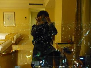 名古屋のホテルにて